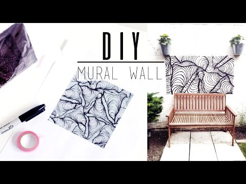 DIY Mural · Easily Paint Any Image, Any Size W/ Quick DIY Projector · ad