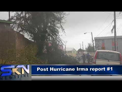 POST HURRICANE IRMA REPORT (St. Kitts and Nevis) #1