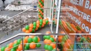 видео Фольгированные шары и шарики в виде букв цифры воздушные цена в Екатеринбурге