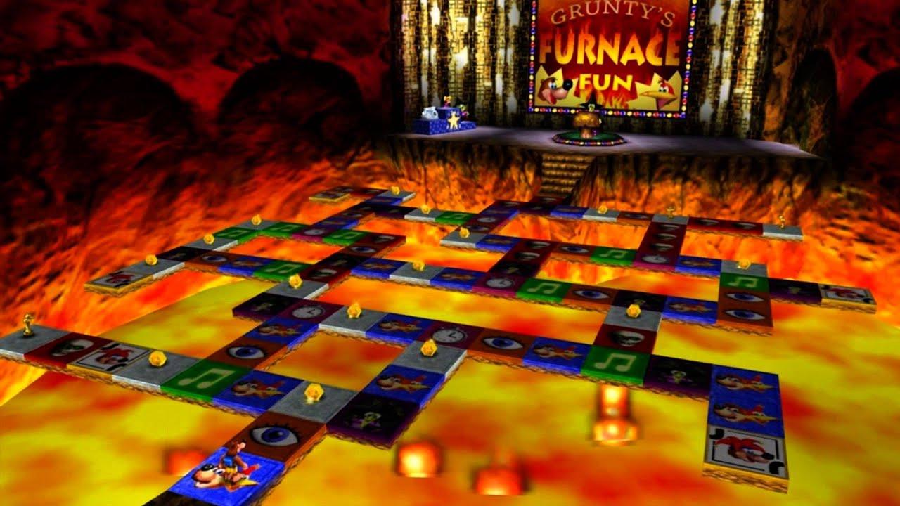 Banjo-Kazooie - Grunty's Furnace Fun (DKC2 Arrangement ...
