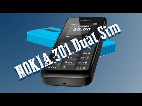 Unboxing & Review Nokia 301 Dual Sim Deutsch