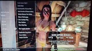 SKYRIM How to make Aela the Huntress wear anything you want