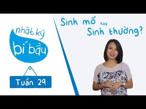 Nhật ký bí bầu - Tuần 29 thai kỳ - Sinh mổ hay sinh thường???