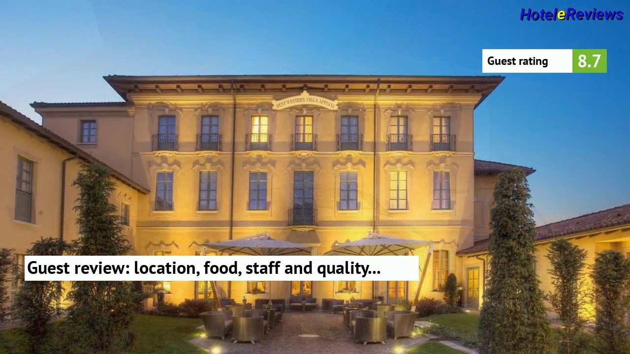 Best Western Villa Appiani **** Hotel Review 2017 HD, Trezzo ...