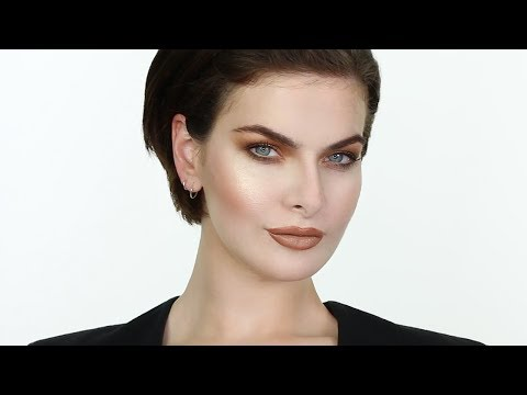 Chic 1990's Brown Makeup with Supermodel Iona Bourke   John Maclean