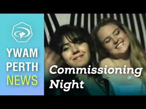 #4 April Quarter Commissioning Night - YWAM Perth News