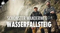 SCHÖNSTER WANDERWEG Deutschlands 2016 – Wasserfallsteig Bad Urach an der Schwäbischen Alb