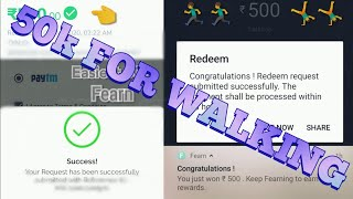 Earn 50k/Year and 500/Week - New Walk and Earn