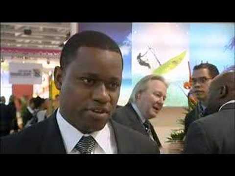 Wayne Garland, Executive Chairman, Turks & Caicos Islands Tourist Board @ ITB Berlin 2008