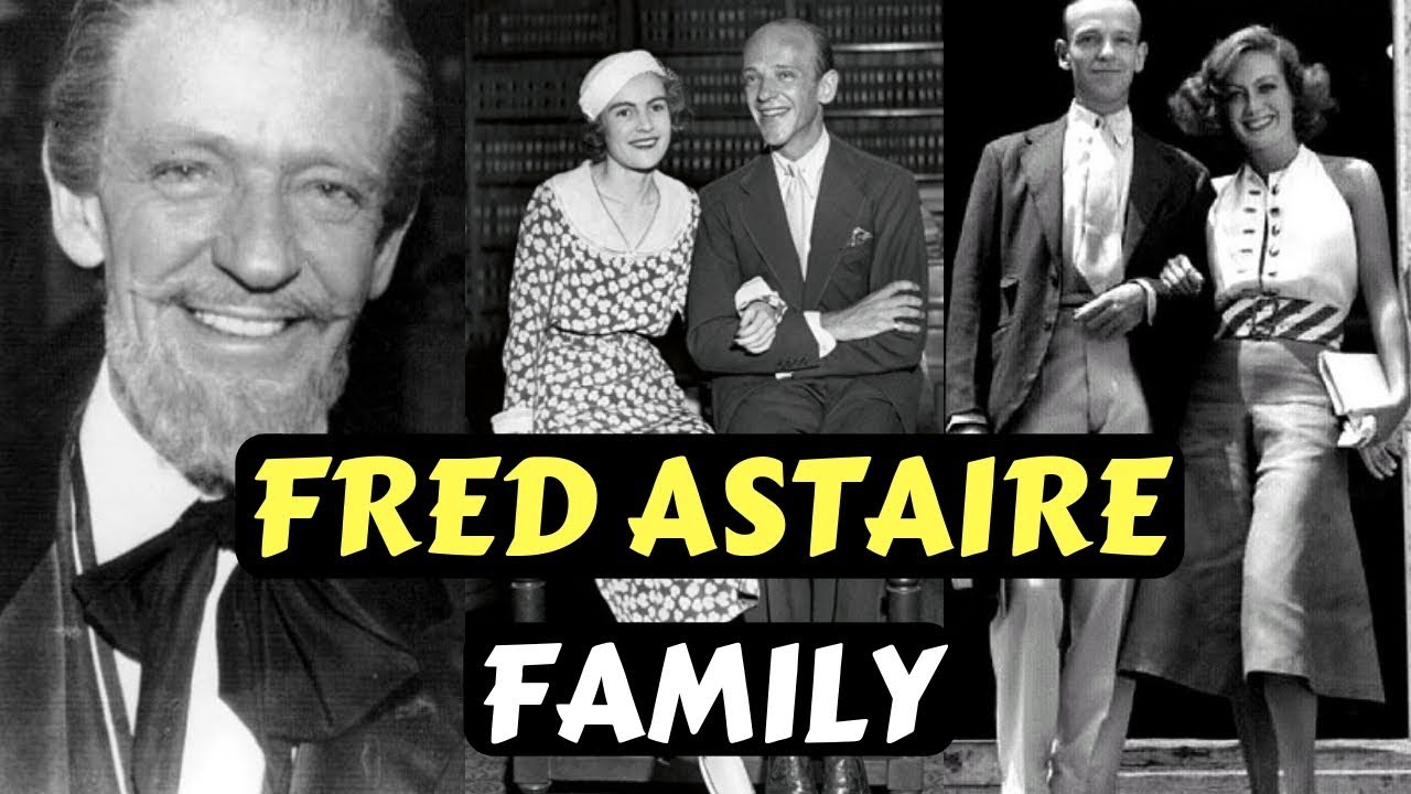 Actor Fred Astaire Family Photos With Wife, Ginger Rogers, Children