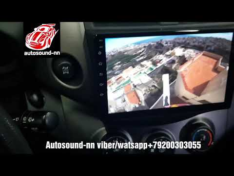 "Штатная Магнитола ZH IPS 4G DSP 2.5D Toyota Rav4 9""(8 ядер 4/64)android 8.1"