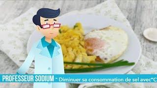 Professeur Sodium vous explique comment arrêter le sel