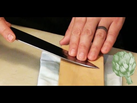 How to Properly Sharpen Knives | HuffPost Life