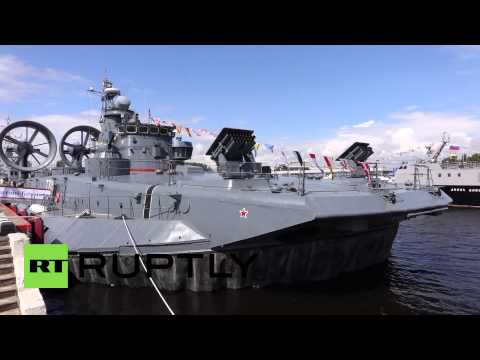 Russia: Moscow's naval power on display at International Maritime Defence Show