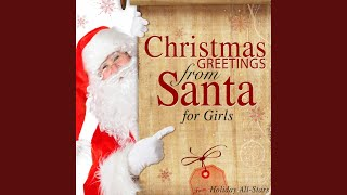 Christmas Greeting from Santa to Ashanti