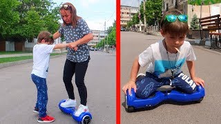 Mama NU VREA pe HOVERBOARD TRUCURI pe Hoverboard Sketch Bogdan Show