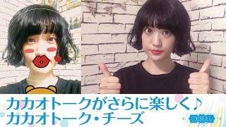 【おすすめアプリ】韓国で主流の『カカオトーク』から出たカメラアプリ『カカオトーク・チーズ』が面白い‼