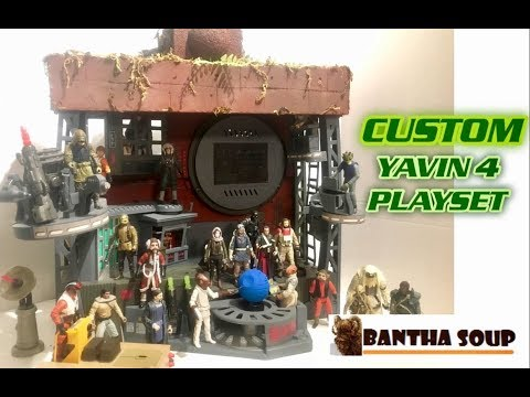 Star Wars Custom Playset - The Great Temple on Yavin 4