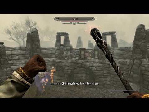 Skyrim Special Edition - The Mind of Madness: Use The Wabbajack To Escape From Pelagius's Mind