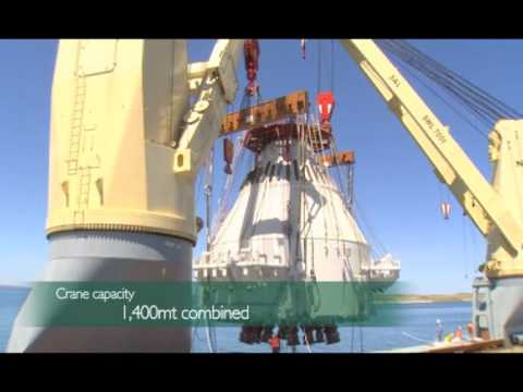 SAL Offshore: MV Anne-Sofie, Pyrenees Project - Discharging Spider Buoy