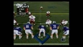 NCAA GameBreaker 2001 PlayStation 2 Gameplay_2000_12_15_1