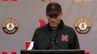 Mike Riley speaks after firing