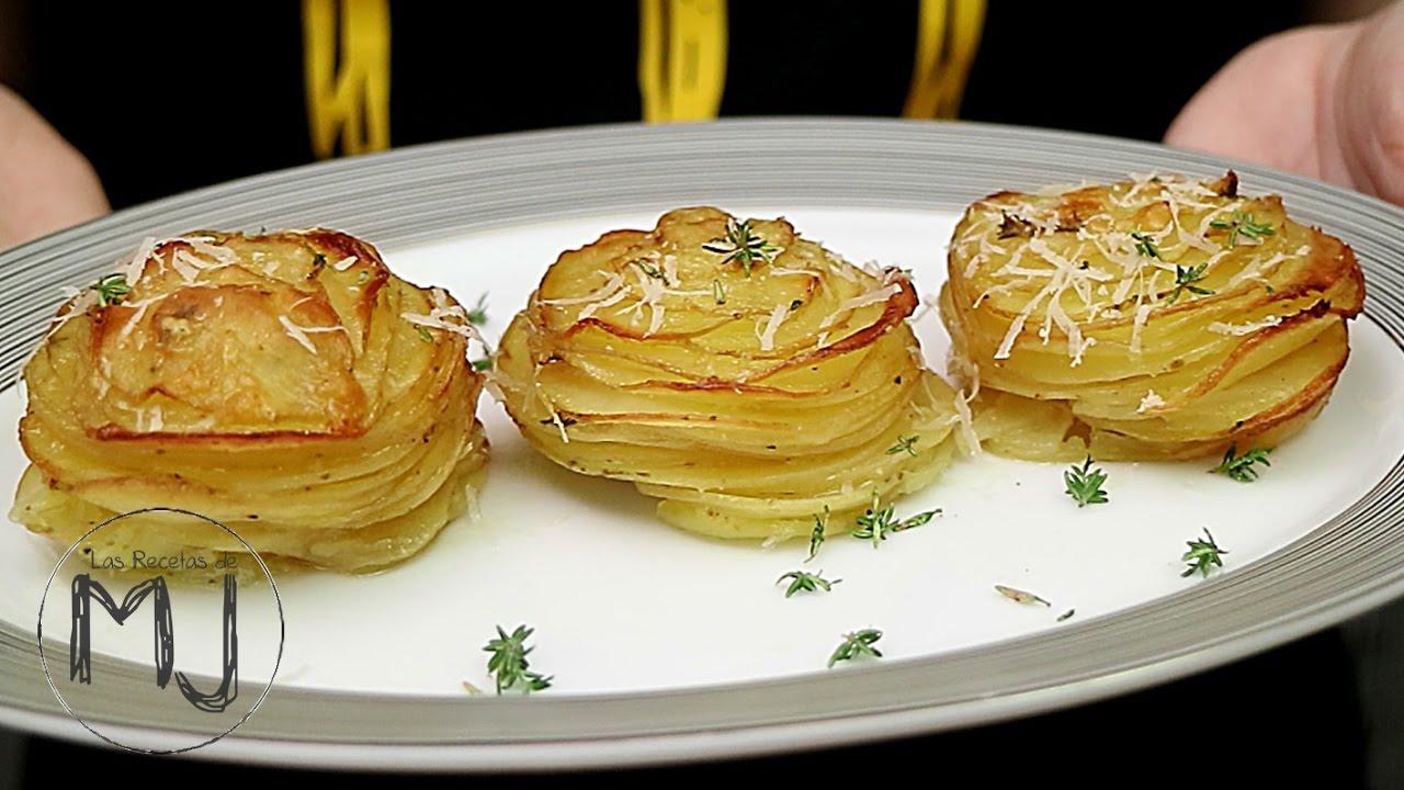 Patatas al horno con parmesano y tomillo receta f cil - Recetas de bogavante al horno ...