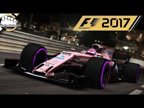 F1 2017 - Force India VJM10 @ Circuit de Monaco (Nacht) - Let's Play F1 2017