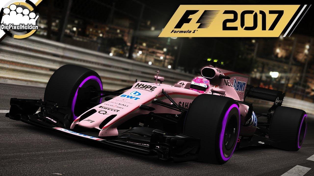F1 2017 Force India Vjm10 Circuit De Monaco Nacht Let S Play