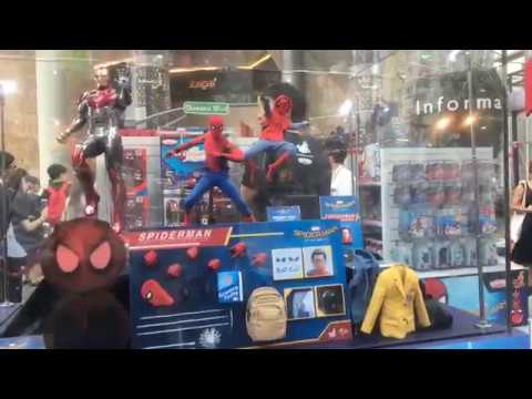 First Look!  Hot Toys -Spider-Man: Home Coming Collectible Figure!