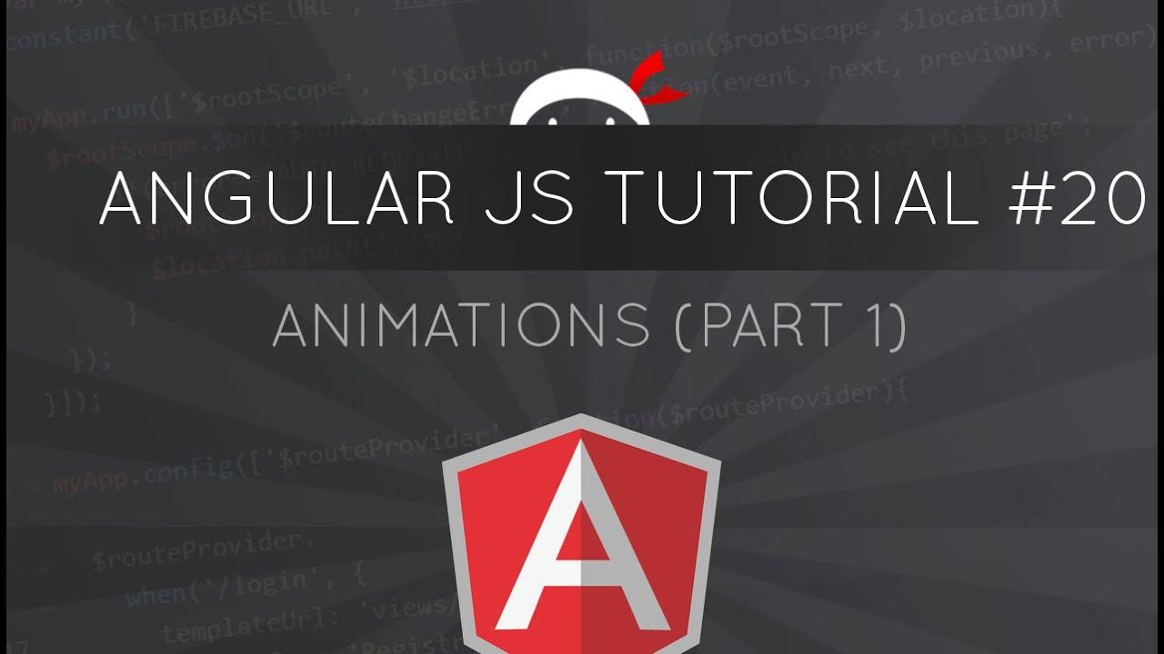 Angularjs tutorial 20 animations part 1 youtube baditri Choice Image