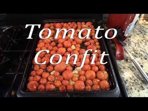 Tomato Confit | Tomatoes & Herbs Slow Roasted In Olive Oil