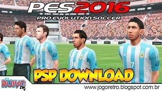 Pro Evolution Soccer 2016 (PES 2016 by MTP) no PSP / Playstation Portable
