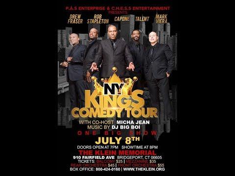 PJ Brown (CHESS Entertainment) J Felton (PAS Enterprise) NY KINGS COMEDY TOUR