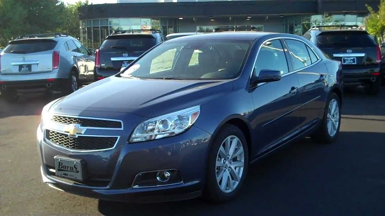 2013 Chevrolet Malibu 2lt Blue Burns Chevrolet Rock Hill