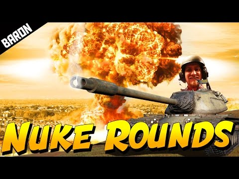 NUKE ROUNDS OF FREEDOM (War Thunder Tanks Gameplay)
