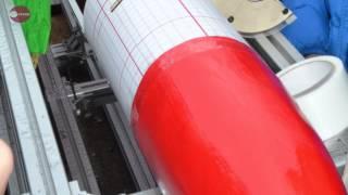 燃料はキャンディー ロケット無事に打ち上がる