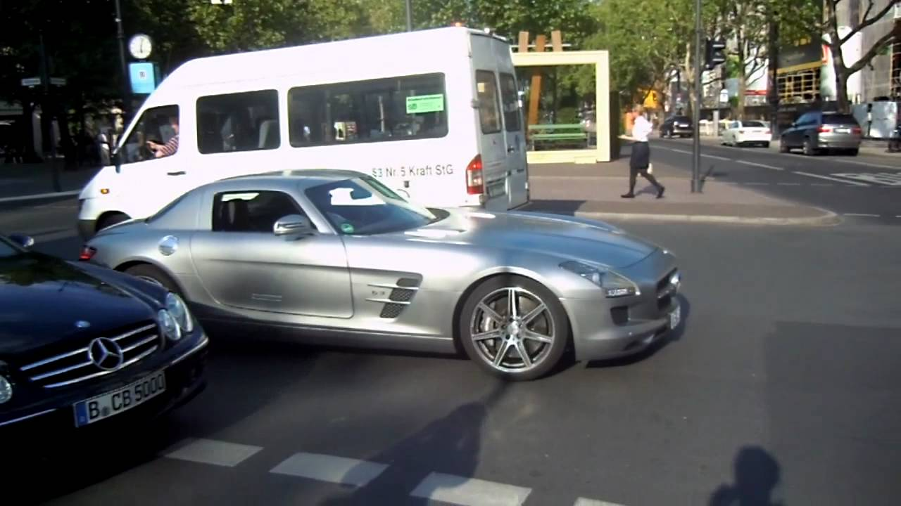 Mercedes Sls Amg Nice Acceleration Youtube