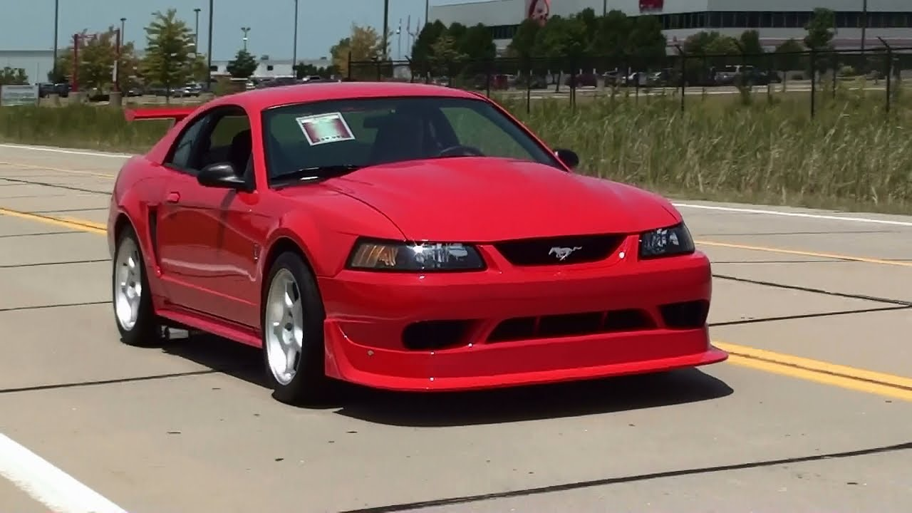 Test driving 2000 cobra r mustang 5 4 dohc v8 six speed