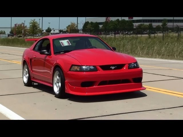 Test Driving 2000 Cobra R Mustang 5.4 DOHC V8 Six Speed Travel Video