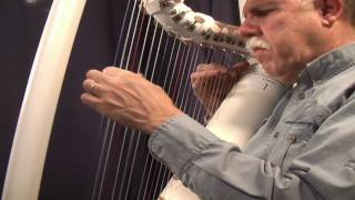Pajaro Campana ( Bell Bird) on PVC harp, performed by John Kovac, harper and harp maker