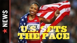 Track and Field Results: Allyson Felix wins Gold in 200m, Aries Merritt wins Gold in 110m Hurdles