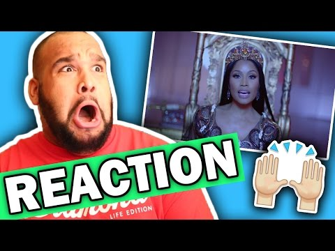 Nicki Minaj, Drake, Lil Wayne - No Frauds (Music Video) REACTION