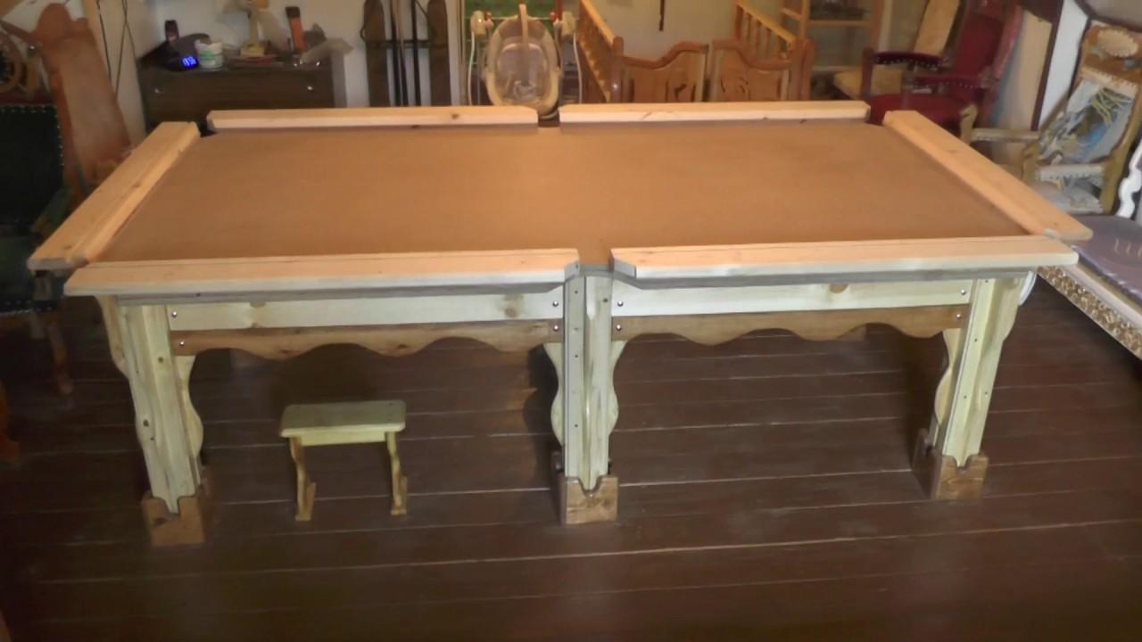Бильярдные столы своими руками