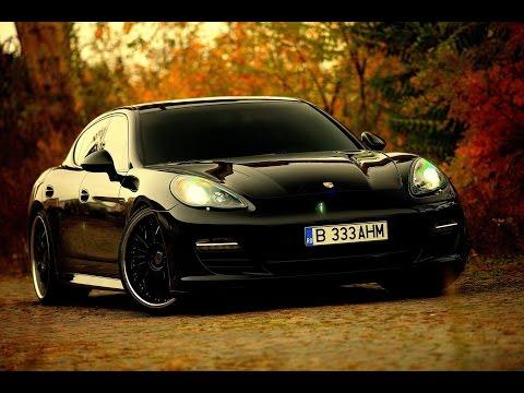 Porsche Panamera  /// The Black Artillery
