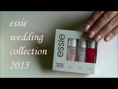 essie wedding collection 2015