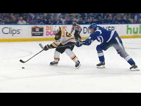 Blown call on Marchand breakaway in Tampa Game 2 4/30/18