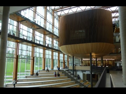 UBC New AMS Student Union Building First Look HD (