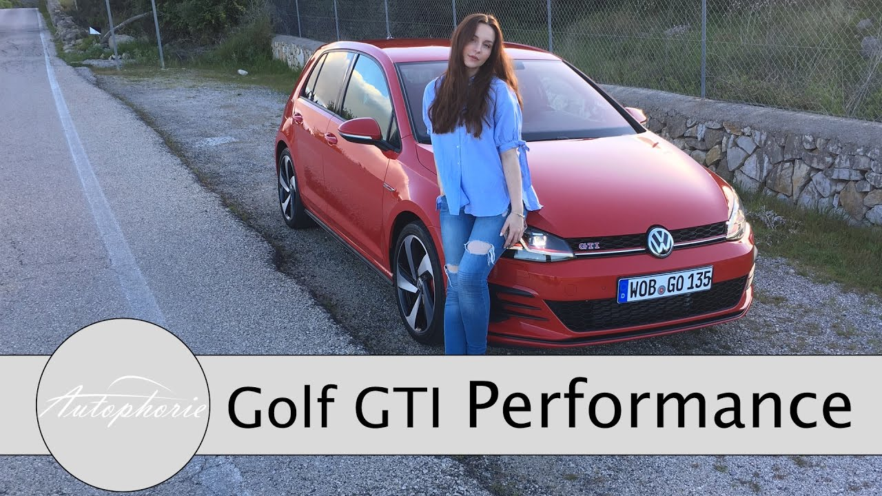 2017 vw golf gti performance 245 ps test. Black Bedroom Furniture Sets. Home Design Ideas