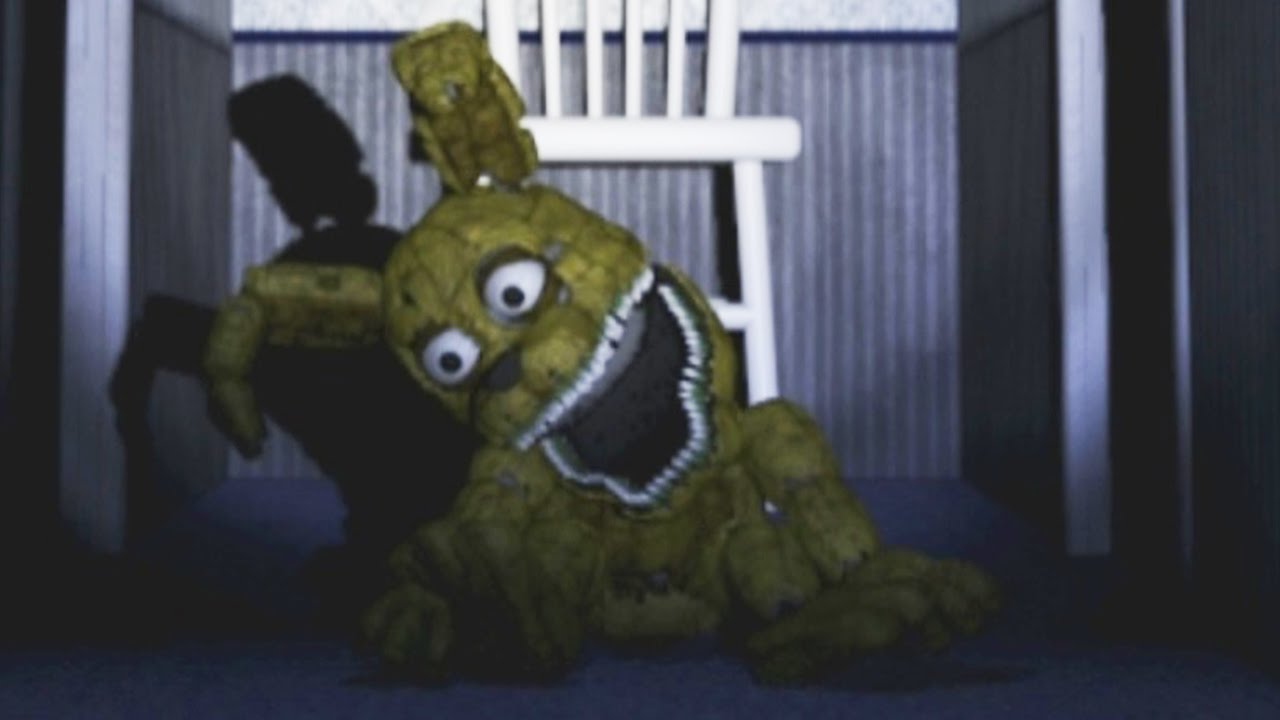 5 nights at freddy s 4 night 2 i plushtrap attacks fnaf4